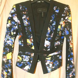 BCBGMaxazria print blazer